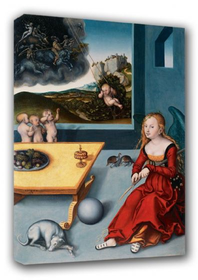 Cranach, Lucas (The Elder): Melancholia. Fine Art Canvas. Sizes: A3/A2/A1 (00459)